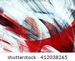 Abstract Red And White Grunge...