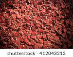 wall decorated with  pattern of ...