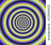 Hypnotic Concentric Rings   An...