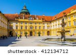 view of the main courtyard of... | Shutterstock . vector #412134712