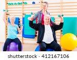 physiotherapist coaching senior