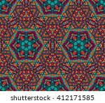 abstract festive colorful... | Shutterstock .eps vector #412171585