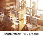 business corporation... | Shutterstock . vector #412176508
