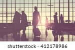 corporate business... | Shutterstock . vector #412178986