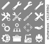 options and service tools icon... | Shutterstock . vector #412185862