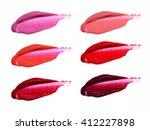 Smudged Lipstick Shades Set