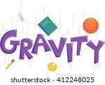 typography illustration... | Shutterstock .eps vector #412248025
