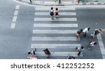 people and couple are walking... | Shutterstock . vector #412252252