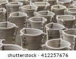 clay pots | Shutterstock . vector #412257676