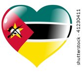 mozambique in heart | Shutterstock .eps vector #41230411
