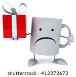 fun mug   Shutterstock . vector #412372672