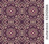 seamless abstract pattern  hand ... | Shutterstock .eps vector #412420666