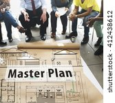 Small photo of Master Plan Strategy Vision Tactics Design Planning Concept