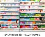 blur image of inside... | Shutterstock . vector #412440958