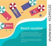 banner. advertising. summer....   Shutterstock .eps vector #412492132