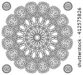 Decor Floral Gem Mandala...