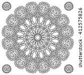 Decor Floral Gem Mandala...