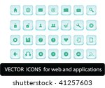 web icons for web and... | Shutterstock .eps vector #41257603