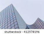 skyscrapers with glass facade.... | Shutterstock . vector #412578196
