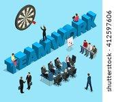 business people teamwork....   Shutterstock .eps vector #412597606