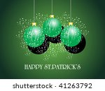 patrick's day background with...