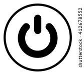 power button  start button  ... | Shutterstock .eps vector #412678552