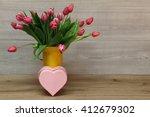 tulips   Shutterstock . vector #412679302