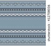 decorative seamless border on...   Shutterstock .eps vector #412708036