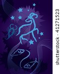 zodiac  astrology | Shutterstock .eps vector #41271523