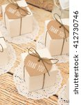 wedding favors | Shutterstock . vector #412730746