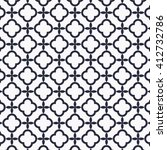 vector pattern. modern linear... | Shutterstock .eps vector #412732786