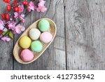 mochi japanese dessert   Shutterstock . vector #412735942