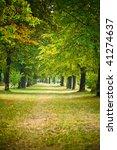 autumn park | Shutterstock . vector #41274637