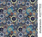 seamless pattern texture.... | Shutterstock . vector #412777312