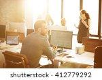 business corporation... | Shutterstock . vector #412779292