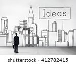 ideas idea vision design plan... | Shutterstock . vector #412782415