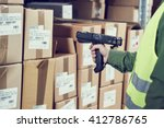 warehouse management system.... | Shutterstock . vector #412786765