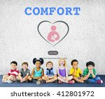 child training comfort... | Shutterstock . vector #412801972
