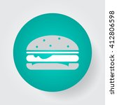 hamburger icon vector  solid...