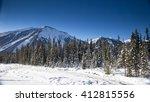 Canadian Mountain Landscape In...