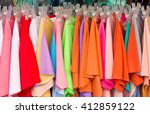 colorful choice of casual... | Shutterstock . vector #412859122