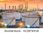 oil and gas industry   refinery ... | Shutterstock . vector #412876918