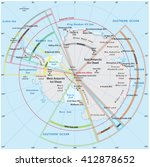 Antarctica Map Free Vector Art Free Downloads - Antarctica political map