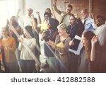 business corporation... | Shutterstock . vector #412882588