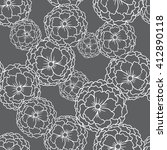 vector image of seamless... | Shutterstock .eps vector #412890118