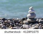 Zen Balancing Pebbles Stone...