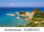 Cape Drastis At Corfu Island I...