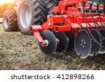 Plow Modern Tech Red Tractor...