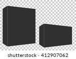 blank empty box  low angle | Shutterstock .eps vector #412907062