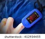 pulse oximeter  | Shutterstock . vector #412934455